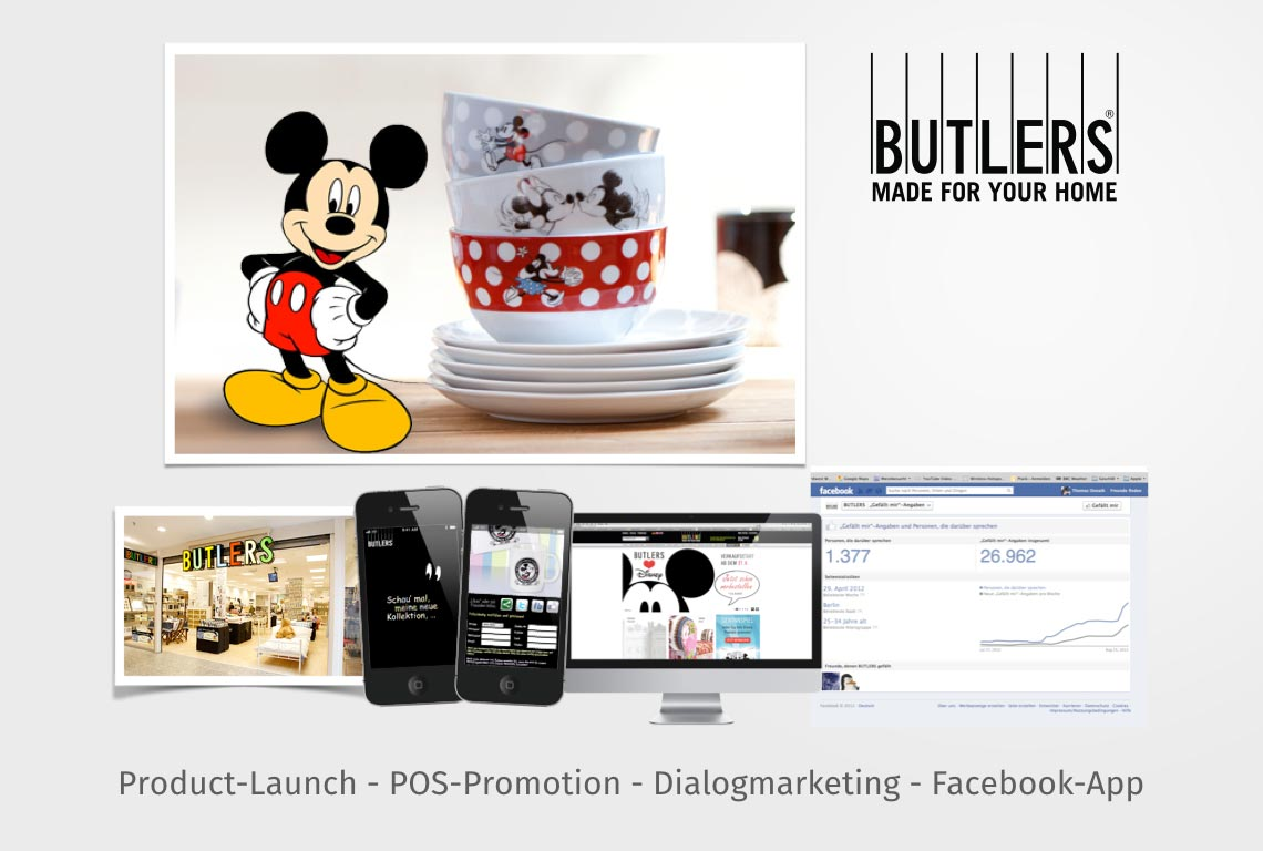 Product-Launch - POS-Promotion - Dialogmarketing - Facebook-App