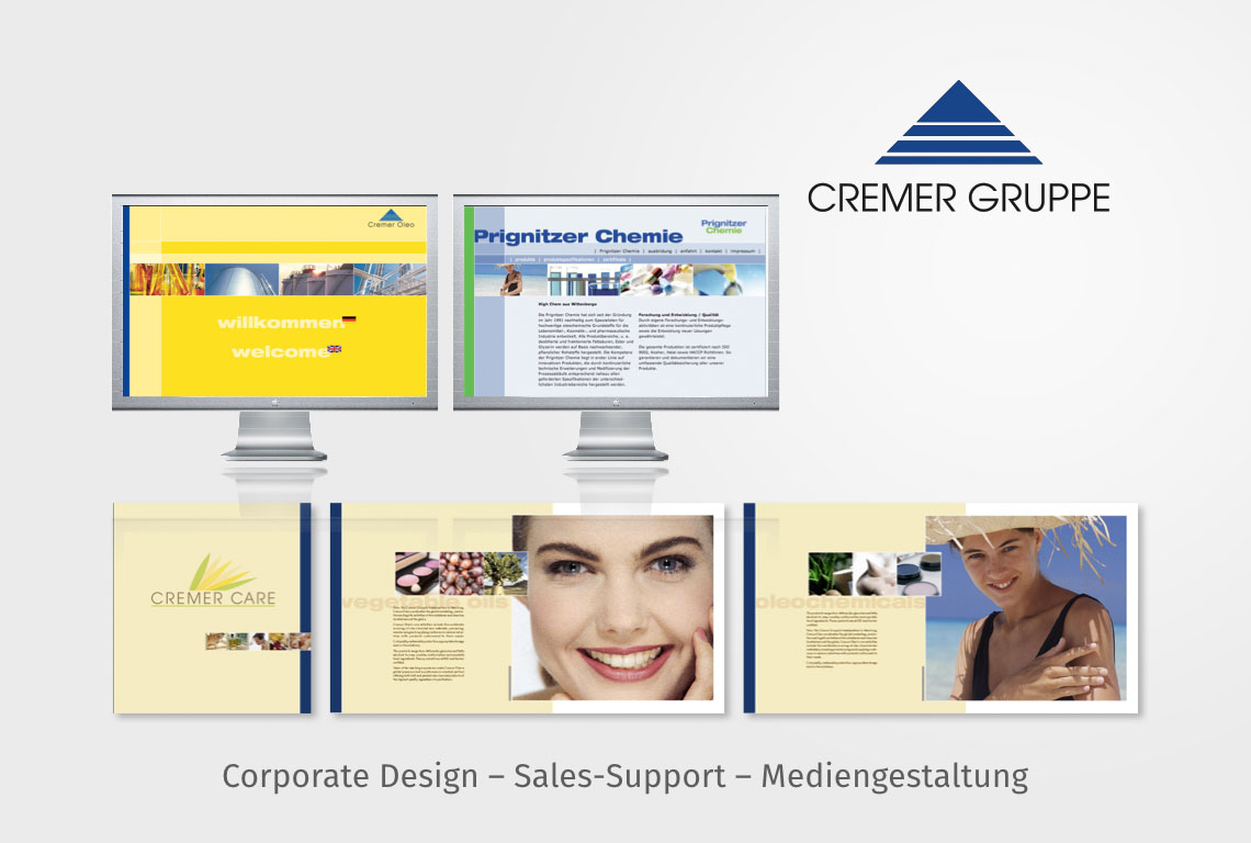 Corporate Design – Sales-Support – Mediengestaltung