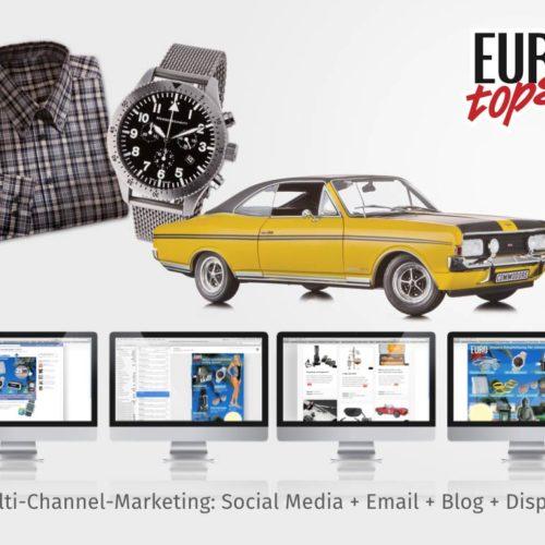 Multi Channel Marketing: Social Media + Email + Blog + Display