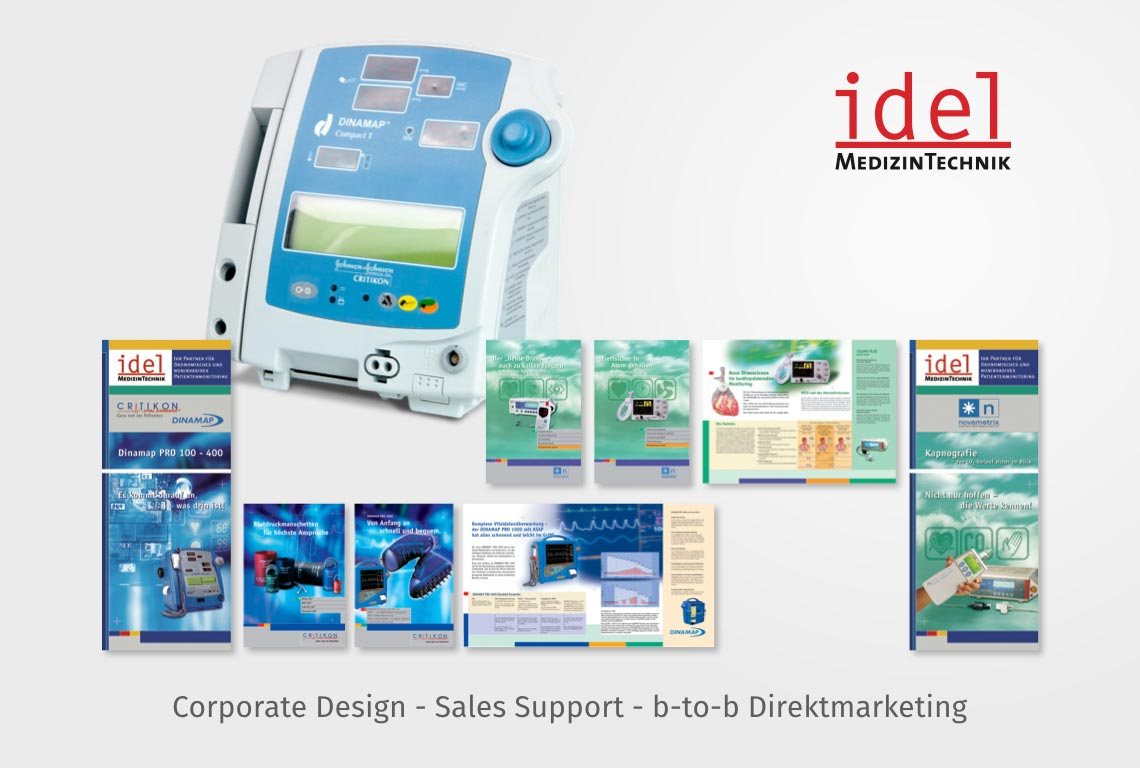 Corporate Design - Sales Support - b-to-b Direktmarketing