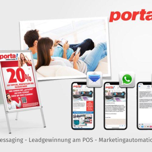 Messaging - Leadgewinnung am POS - Marketingautomation