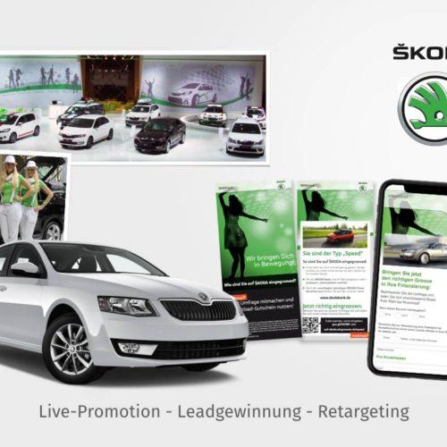 Live-Promotion - Leadgewinnung - Retargeting