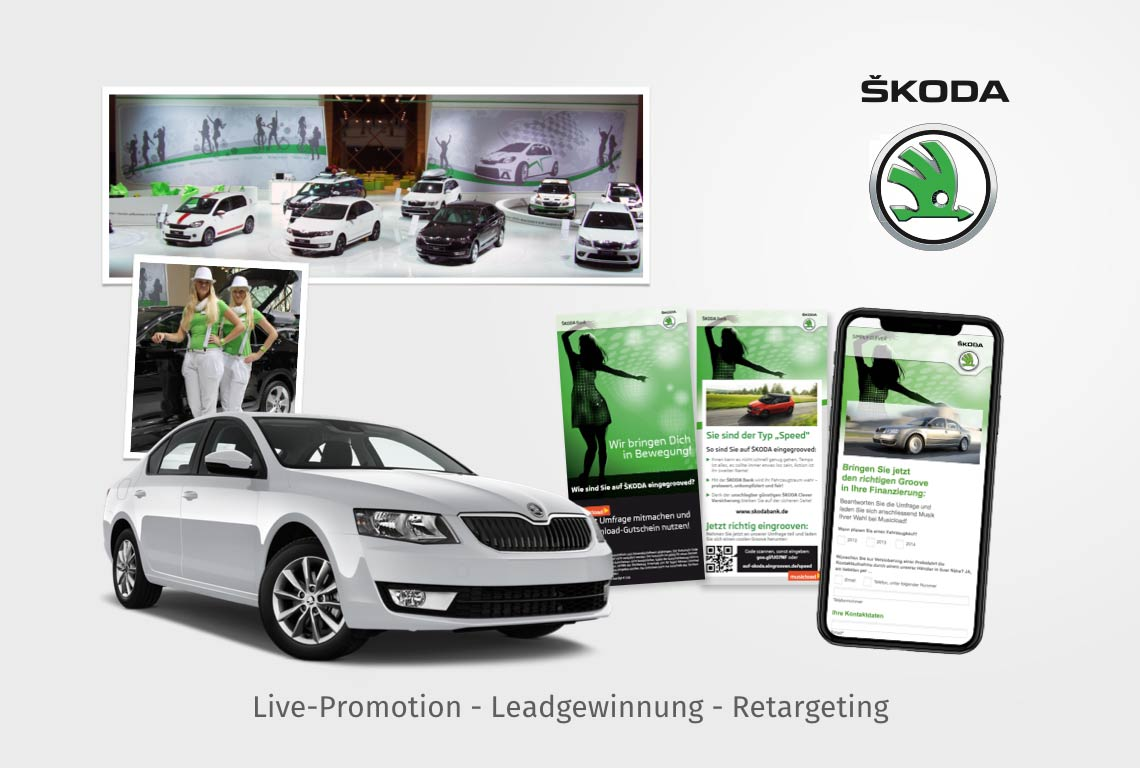 Live-Promotion - Leadgewinnung - Retargeting