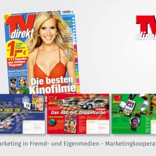 Abomarketing in Fremd- und Eigenmedien - Marketingkooperationen