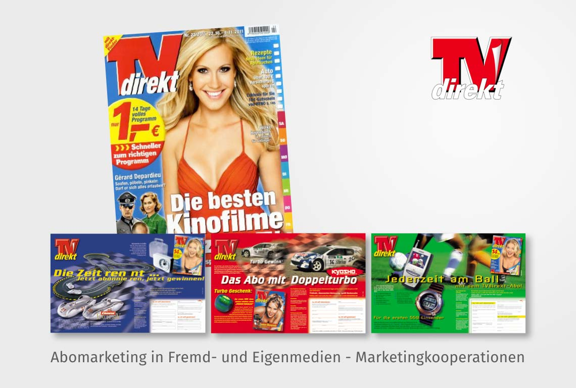 Abomarketing in Fremd- und Eigenmedien - Marketingkooperationen