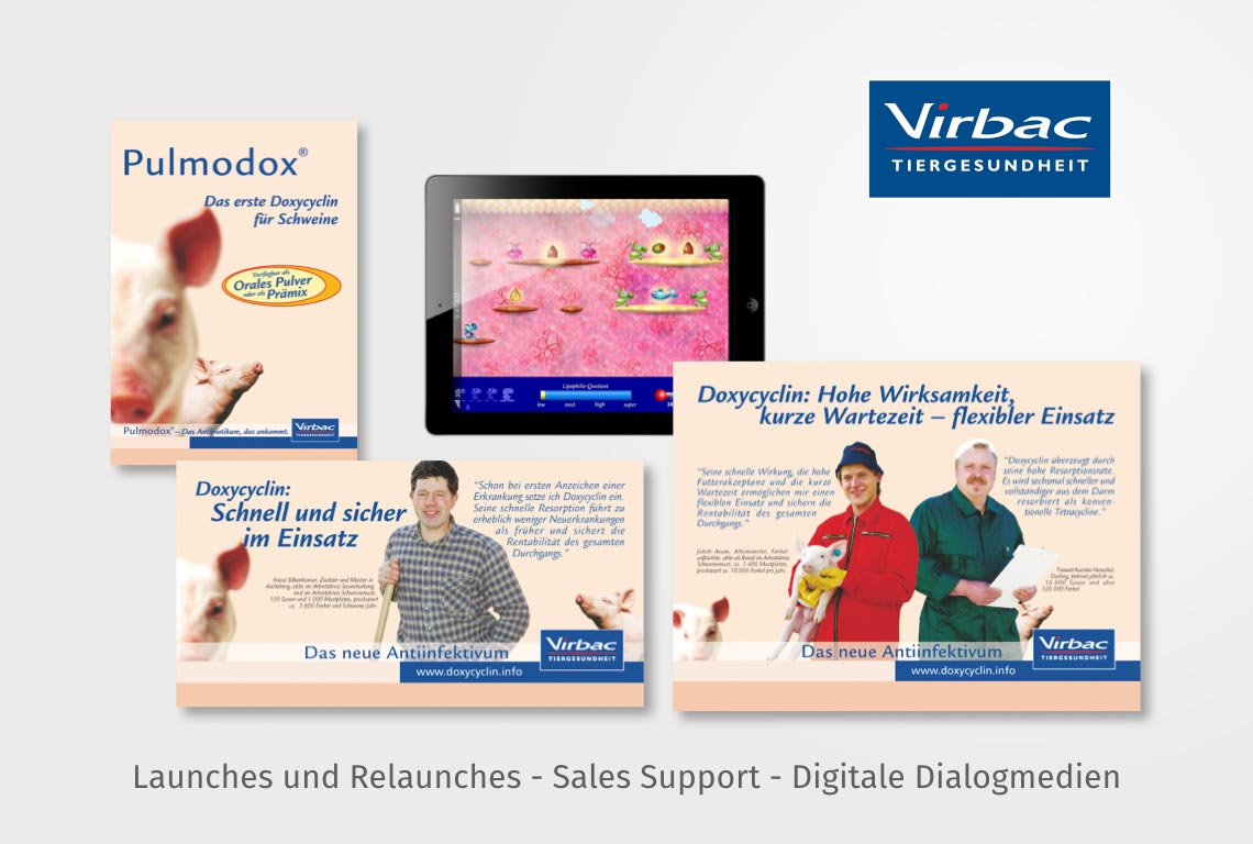Launches und Relaunches - Sales Support - Digitale Dialogmedien