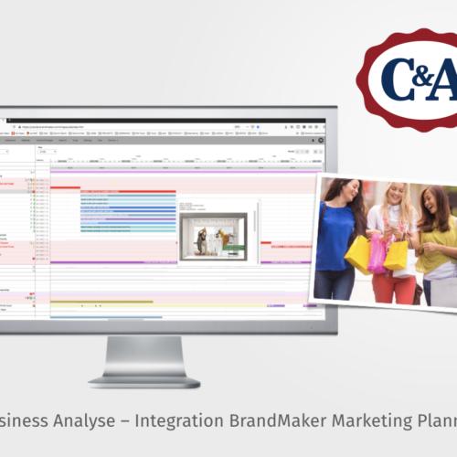 C&ABusiness Analyst für die Integration des BrandMaker Marketing Planners