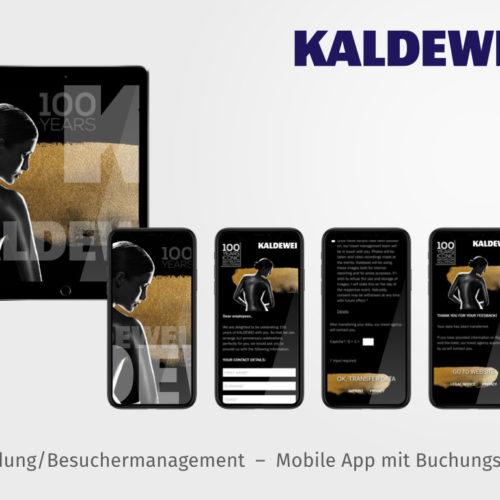 App für Anmeldung und Buchungssystem